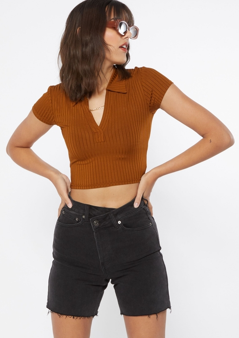 SS CROP POLO placeholder image