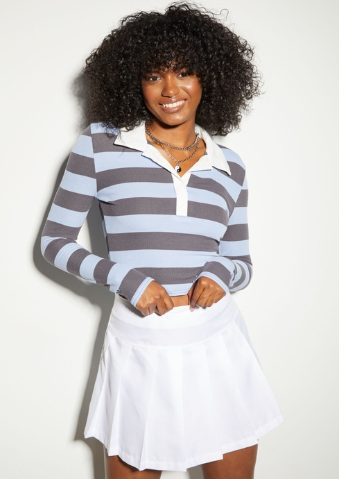 THICK STRIPE LS EMBROIDER placeholder image