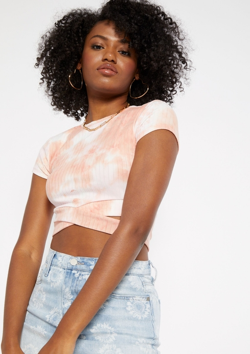 TIEDYE SS CUTOUT BOTTOM T placeholder image
