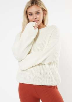 HEART SLEEVE PULLOVER placeholder image
