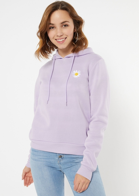 EMBROIDERED DAISY HOOD placeholder image