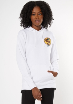white greatness within dragon graphic hoodie - Main Image