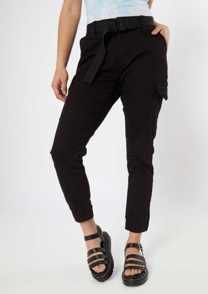 black belted cargo pants - Main Image