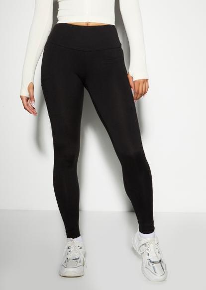 black super soft pocket leggings - Main Image