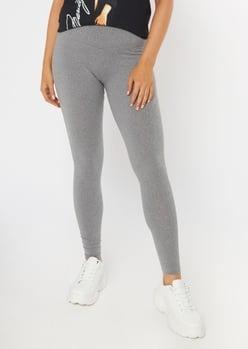 heather gray super soft leggings - Main Image