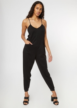black harem jumpsuit - Main Image