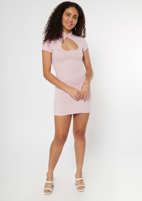 SS CUT OUT NK DRESS placeholder image