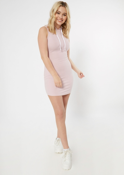 SLVS HOODED BODYCON placeholder image