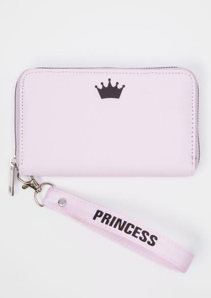 pink princess crown wallet - Main Image