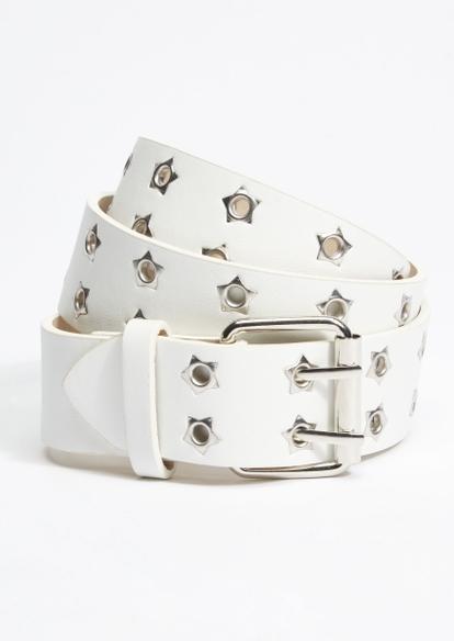 white star grommet belt - Main Image