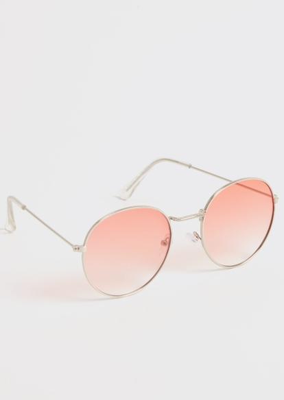 rose round sunglasses - Main Image