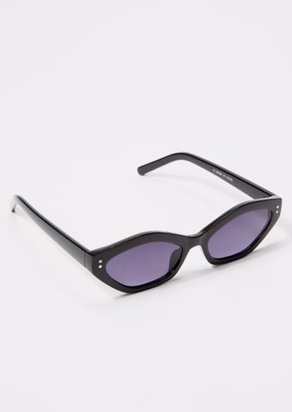 black cat eye sunglasses - Main Image