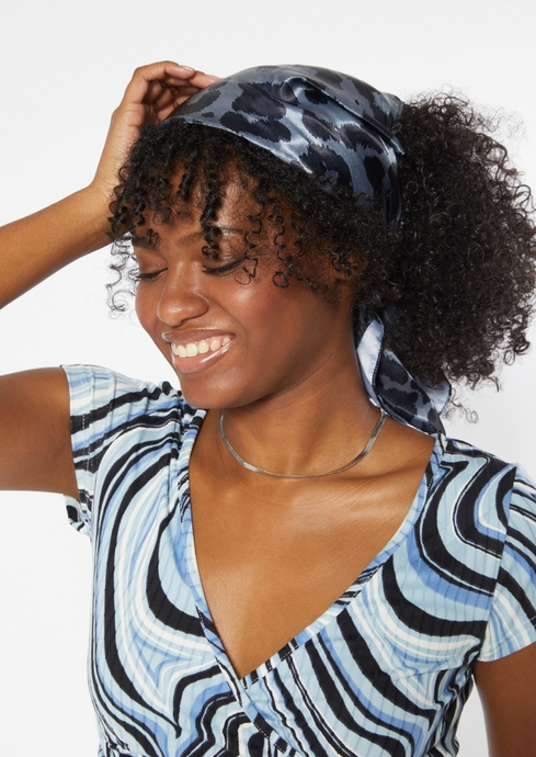 MB LEOPARD HAIR SCARF placeholder image
