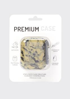 camo print wireless earbud case - Main Image