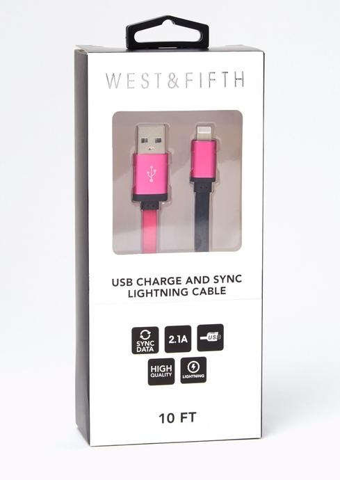 FUSCHIA 10FT USB placeholder image