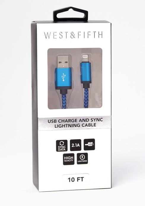 BLUE BLK ROPE USB placeholder image