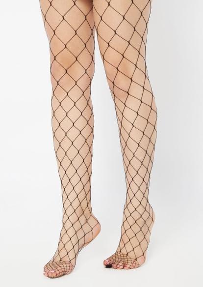 black fishnet tights - Main Image