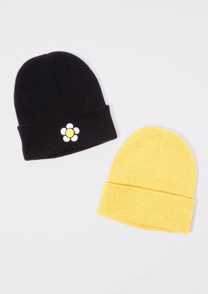 2-pack daisy beanie set - Main Image