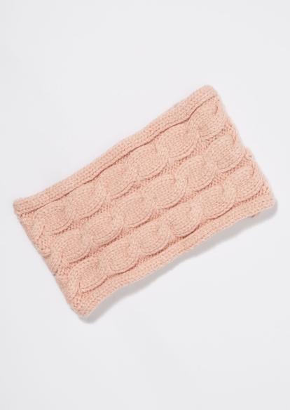 ivory cable knit headband - Main Image