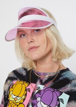 clear pink visor - Main Image