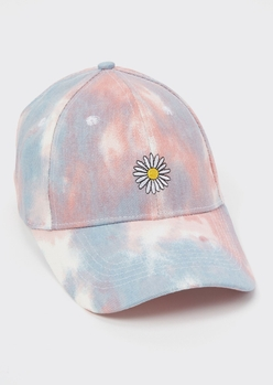 TIEDYE EMBR DAISY DAD HAT placeholder image