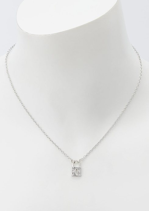 17 IN DAINTY PAVE LOCK placeholder image