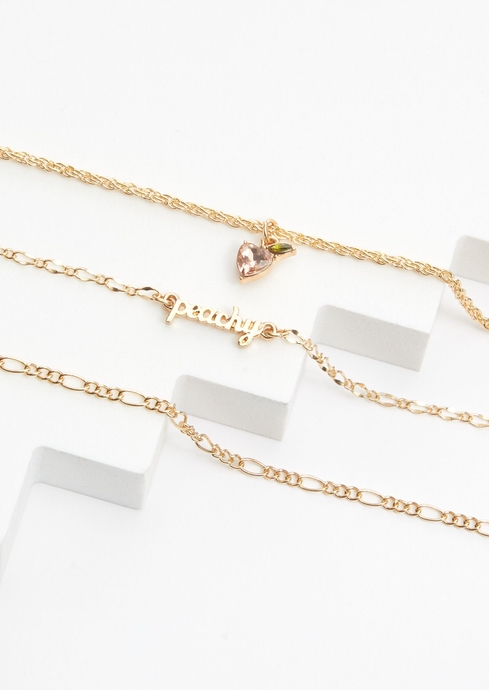 PEACHY ANKLET 3 PK placeholder image