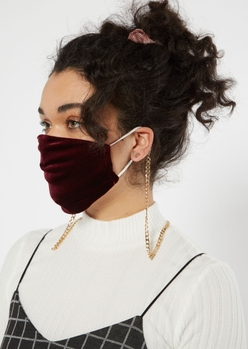 CHUNKY CURB MASK CHAIN placeholder image