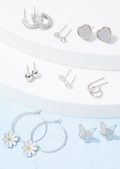 DAISY PAVE HEART BFLY EAR placeholder image