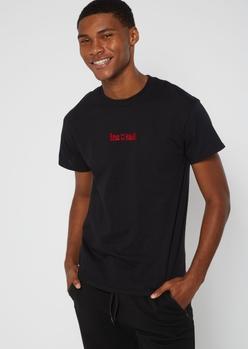 black boyz n the hood embroidered tee - Main Image