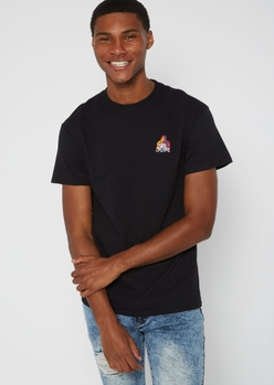 black poetic justice embroidered tee - Main Image
