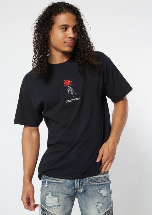 LONELY WORLD EMB TEE placeholder image