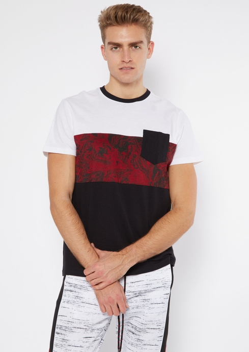 SS OIL SLICK CLRBLCK TEE placeholder image