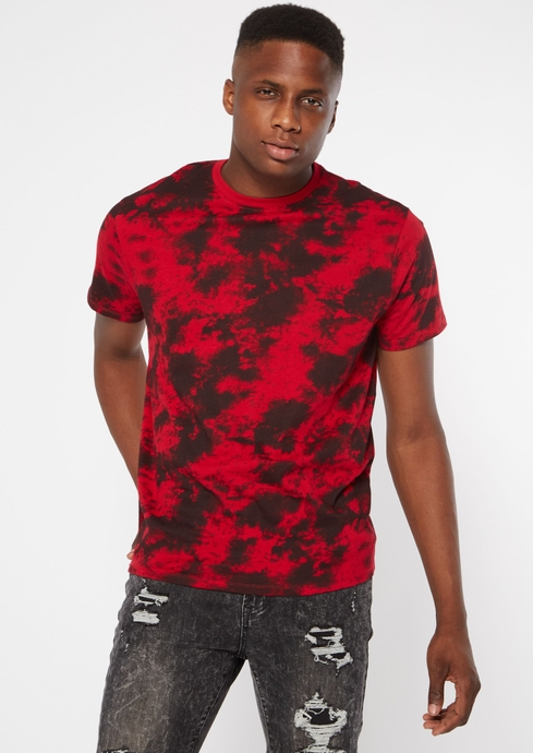 SS RED AND BLACK TIE DYE placeholder image