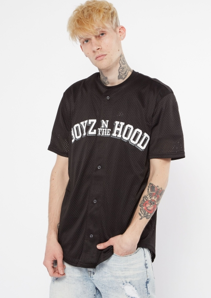 boyz n the hood graphic jersey - Main Image