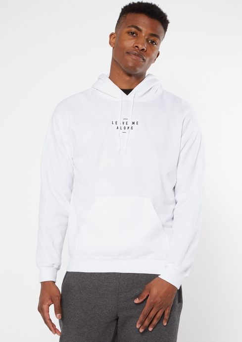 LEAVE ME ALONE EMB HOODIE placeholder image
