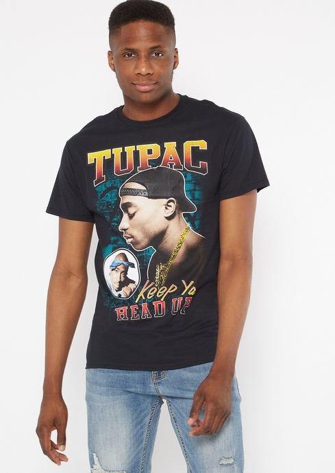 2PAC HEAD UP TEE placeholder image
