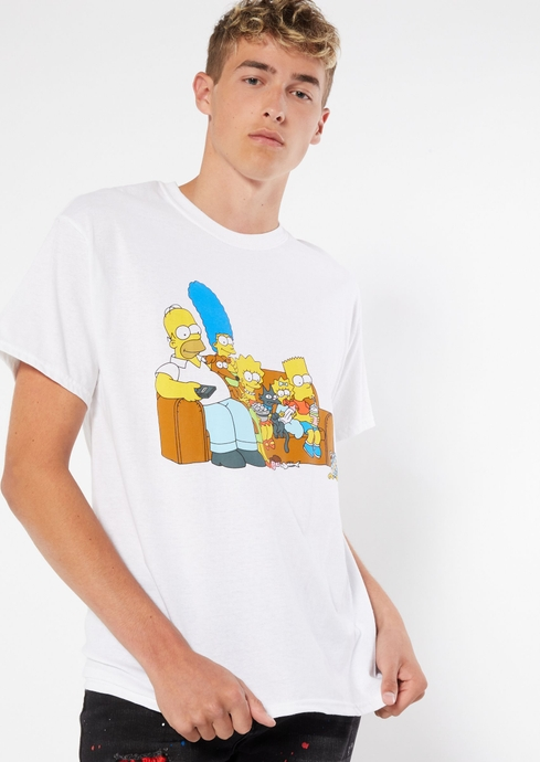 THE SIMPSONS COUCH LOGO T placeholder image