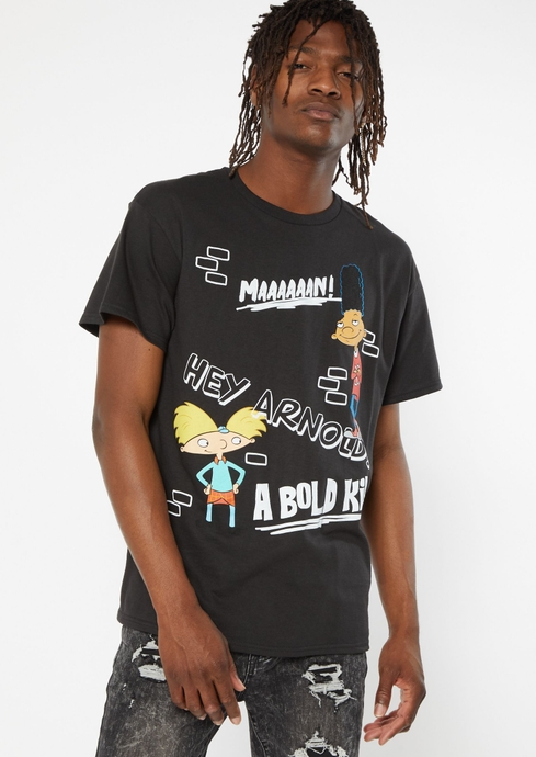 HEY ARNOLD BOLD TEE placeholder image