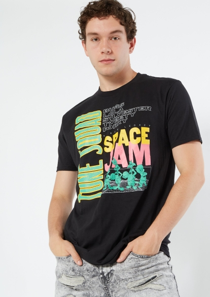 black space jam tune squad graphic tee - Main Image