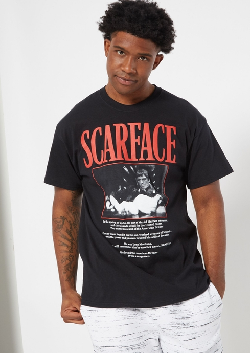 SCARFACE TEXT TEE placeholder image