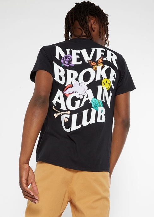 NEVER BROKE CLUB FB TEE placeholder image