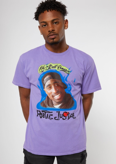 POETIC JUSTICE FLAMES TEE placeholder image