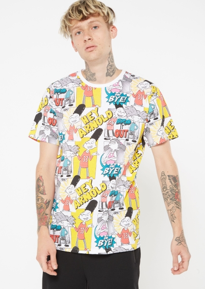 hey arnold all over print graphic tee - Main Image