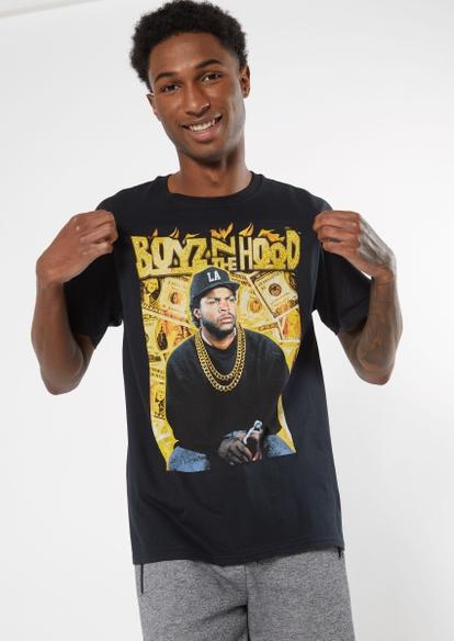 black gold cash boyz n the hood graphic tee - Main Image