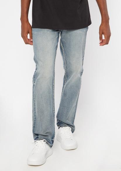 ultra flex medium wash bootcut jeans - Main Image