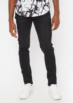 ultra flex black skinny jeans - Main Image