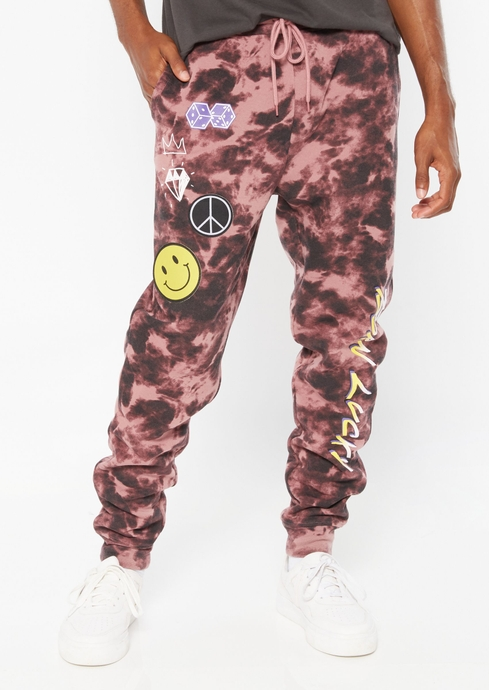 BORN LUCKY TIE DYE JOGGER placeholder image
