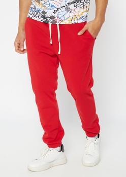 red sweatpants - Main Image