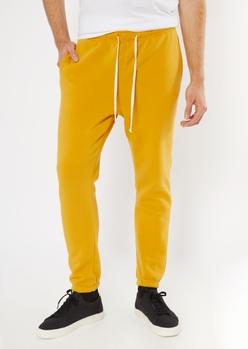 mustard yellow sweatpants - Main Image